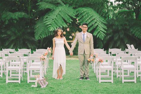 simple wedding budget philippines sweet tagaytay garden philippines wedding
