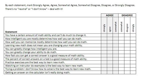 Printable Growth Mindset Questionnaire | growth mindset bowman in arabia