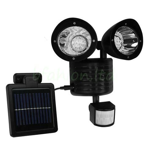 Pir Security Lights Outdoor 22 Led Solar Powered Pir Motion Sensor Security Light Outdoor Garden Garage L Ebay