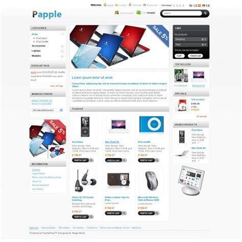template prestashop 10 th 232 mes prestashop gratuits et attrayants beauxthemes