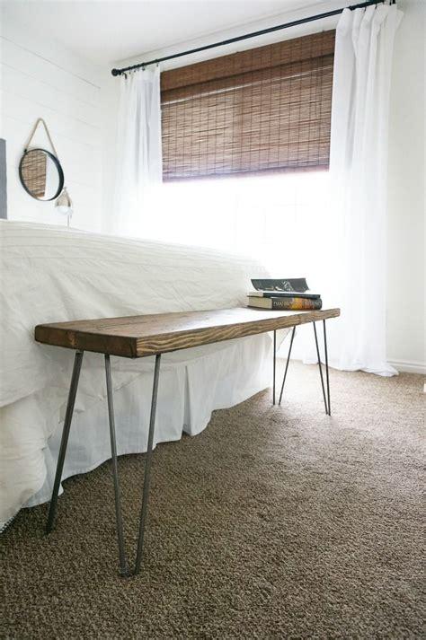 diy bedroom bench best 25 modern bench ideas on pinterest woodworking