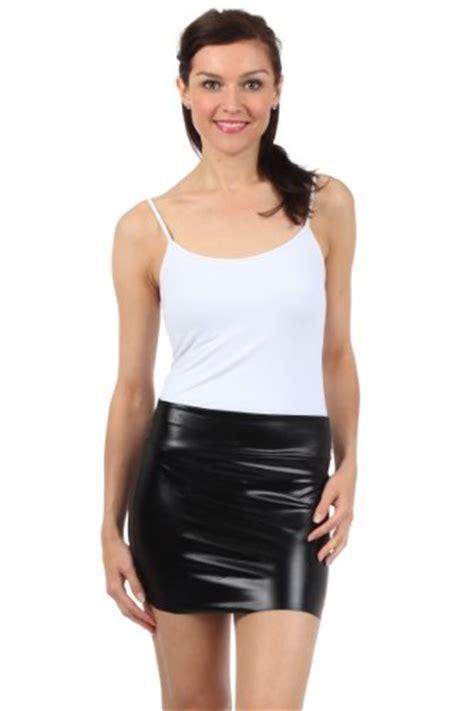 Skirt Black Import sakkas 6924 s shiny metallic liquid mini skirt black import it all