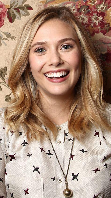wallpaper elizabeth olsen  popular celebs   actress singer smile blonde