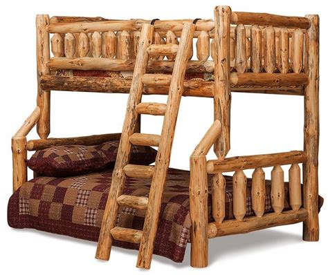 Log Bunk Bed Plans Log Furniture Plans Recycled Things