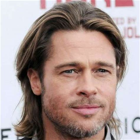 brad pitt natural hair how to get brad pitt s hairstyle the idle man