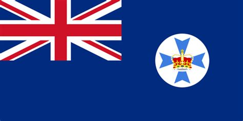 Flags Of The World Brisbane   queensland flag and description
