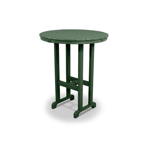 Outdoor Furniture Bar Table Trex Outdoor Furniture Monterey Bay Rainforest Canopy 36 In Patio Bar Table Txrbt236rc