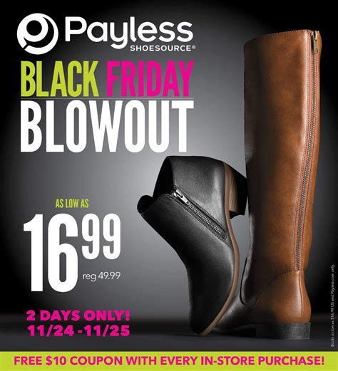 payless shoes black friday 2017 ads deals and sales