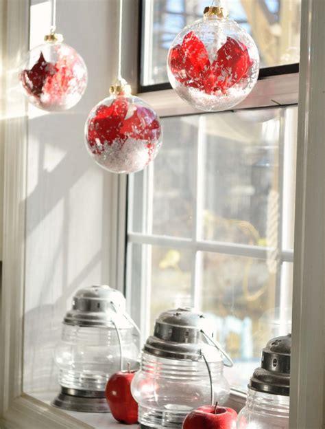 Weihnachtsdeko Fensterbank Rot by 39 Fensterbank Deko Ideen F 252 R Innen Zu Weihnachten