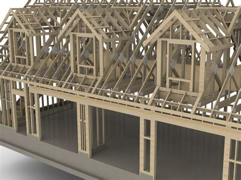 Dormer Structure Truss Plugin Extension Extensions Sketchup Community