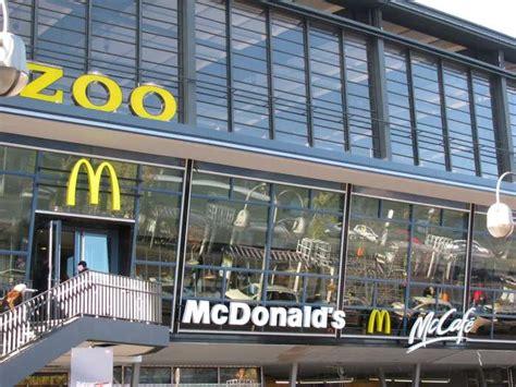 zoologischer garten curry 36 mcdonald s restaurant zoo terrassen 10 bewertungen