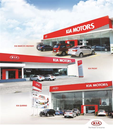 Kia Branch Ave Kia Implements Global Space Identity In 3 Ph Dealerships