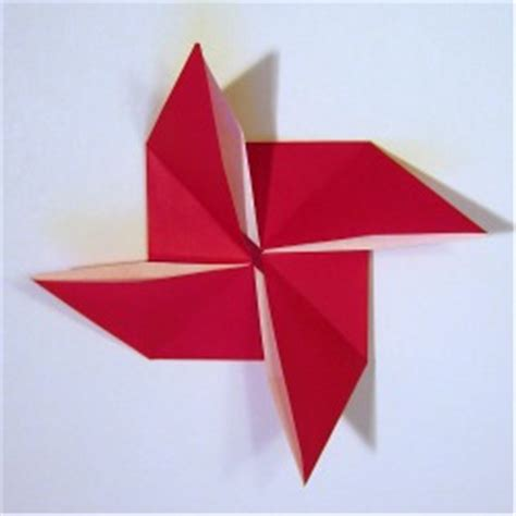 How To Make A Pinwheel Origami - your place