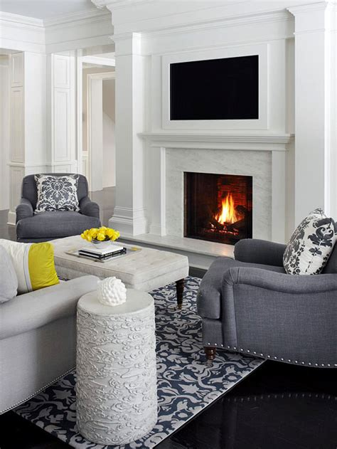 placing a tv a fireplace televisions tvs and modern