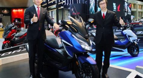 honda forza  maxi scooter introduced  thailand india