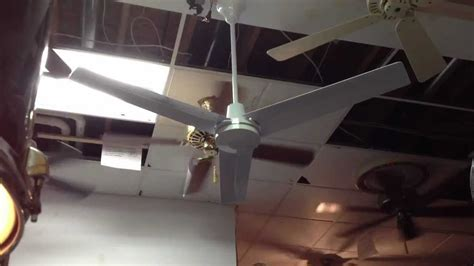 how heavy is a ceiling fan dayton heavy duty industrial ceiling fan youtube