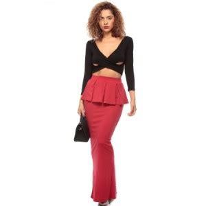peplum maxi skirt peplum maxi skirt by www