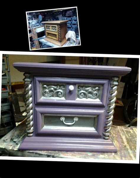 malm dresser redo chrome spray paint furnish 14 best furniture refinishing fun images on pinterest