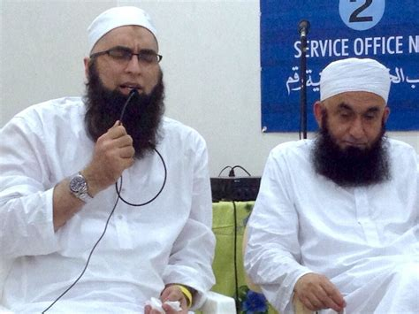 Jam Shed by Maulana Tariq Jameel Picture With Junaid Jamshed