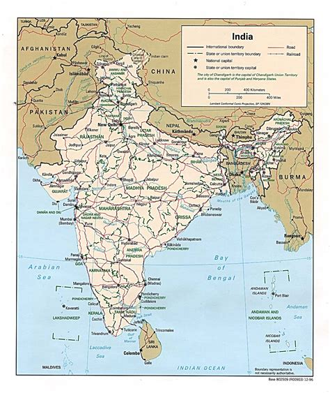 A Map Of India by Nationmaster Maps Of India 39 In Total