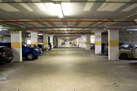 Underground Parking Garage | underground parking garage cape town daily photo