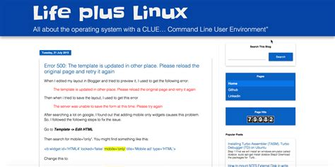 themes google user content life plus linux material theme for google blogger