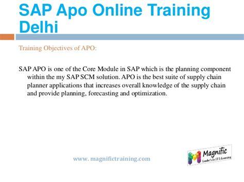 tutorial sap apo sap apo online training in usa