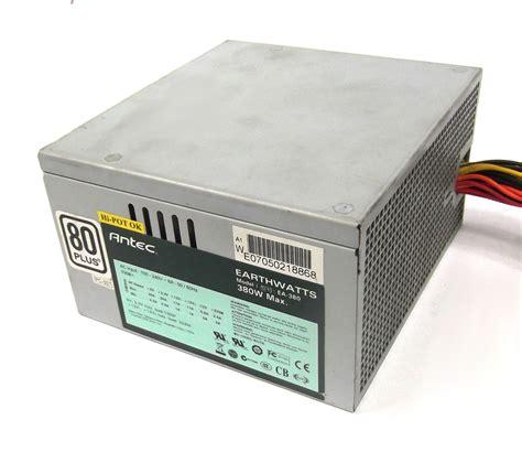 Dazumba 380w 24 Pin Power Supply antec ea 380 earthwatts 380w 24 pin atx power supply ebay