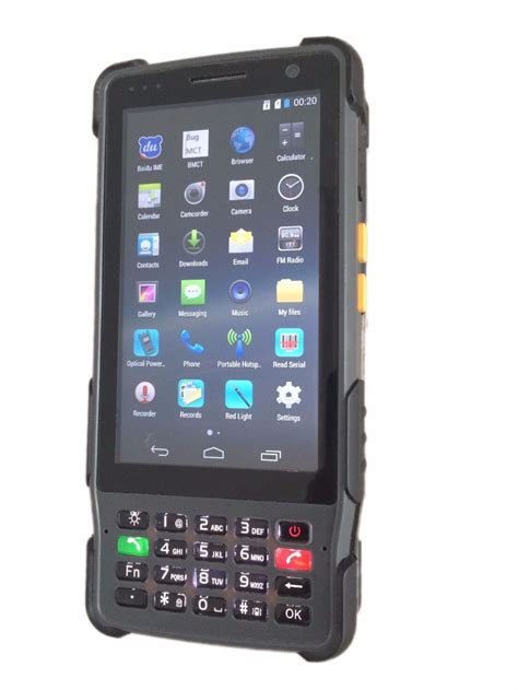 mobile tester senter st327 barcode scanner mobile pda telecom pda with