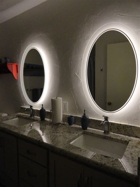 badezimmer vanity lights inspired led accent lighting bathroom by