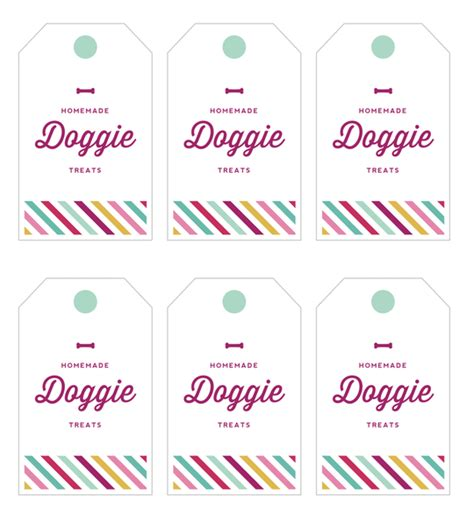 treat label template cookie gift tag treats and tags for gifting printables from the kitchn the
