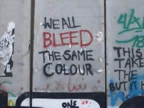we all bleed the same color we all bleed the same color quotes quot no quot