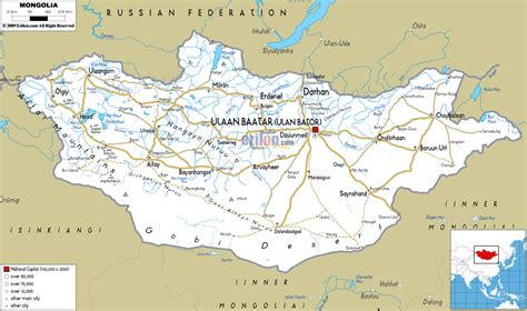 map of and its cities maps of mongolia detailed map of mongolia in
