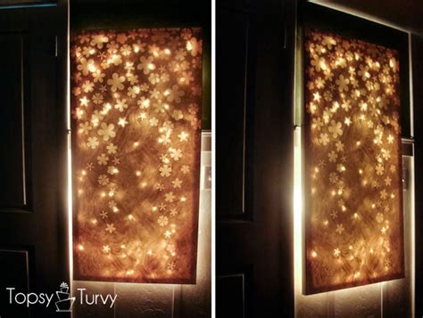 Backlit Canvas Wall Diy 36 best diy wall ideas designs and decorations for 2019