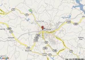map of country hearth inn toccoa toccoa