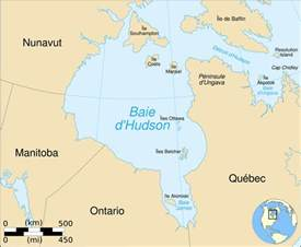 map of hudson bay canada hudson bay map fr mapsof net