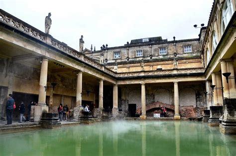 bathroom england steam rising from the roman baths in bath england