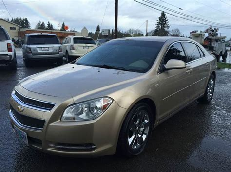 2008 Chevrolet Malibu Mpg by 2008 Chevrolet Malibu Lt 4dr Sedan W 1lt In Woodburn Or
