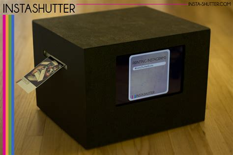 Printer Photo Booth insta shutter instagram printing speedway photo booth