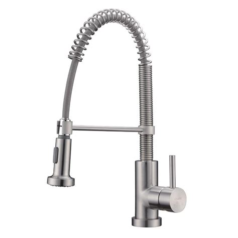 Industrial Kitchen Faucet Sprayer Whitehaus Collection Jem Collection Commercial Single Handle Pull Sprayer Kitchen Faucet In