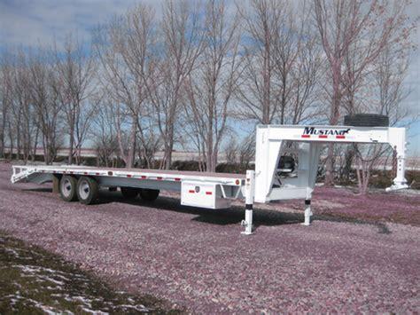 mustang trailers flatdeck trailer 12 171 171 mustang trailers mustang trailers