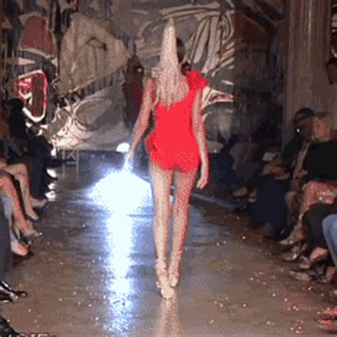 Contention On The Catwalk As Fashion Finds It Conscience by Lounge Fashion Show Gifs Find On Giphy