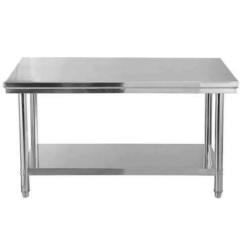 stainless steel kitchen table stainless steel prep table new 30 quot x 48 quot stainless steel commercial kitchen work food