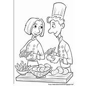 Ratatouille Coloring Pages  Educational Fun Kids