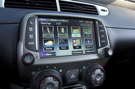 electric and cars manual 2012 chevrolet camaro navigation system mylink camaro radio autos post
