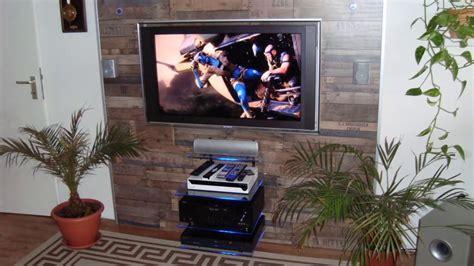 indirekte beleuchtung wohnzimmer wand tv wand selber bauen ganz einfach
