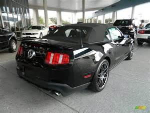 Ford Mustang 2012 Black Black 2012 Ford Mustang Shelby Gt500 Svt Performance