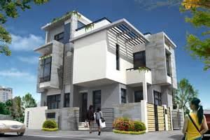 house elevation pics photos corner house elevation gharexpert picture