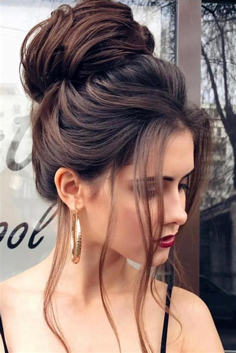 hairstyles with big buns 15 pretty chignon bun hairstyles to try chignon bun bun