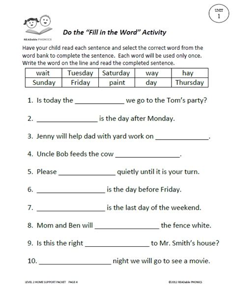language arts worksheets readable phonics readable phonics second grade language arts curriculum with knowledge update